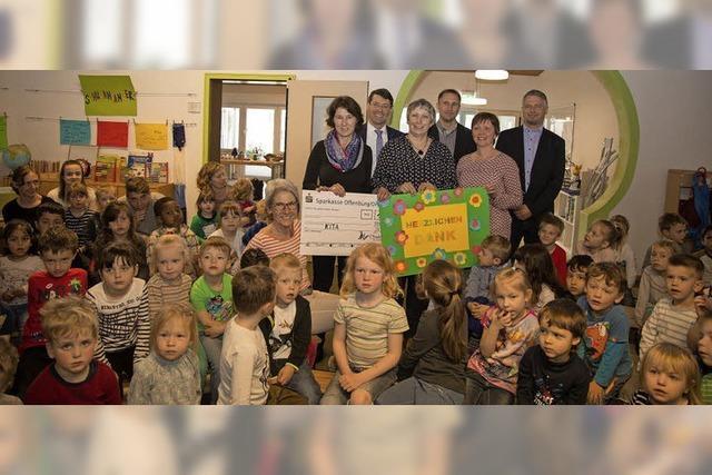 Spenden für die Kindergärten