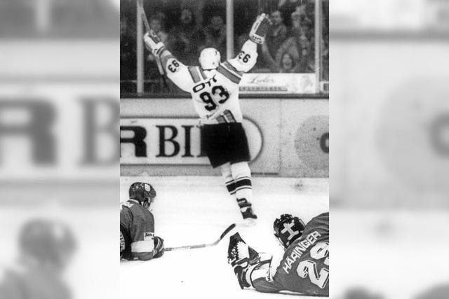 Hockey auf dem Eis