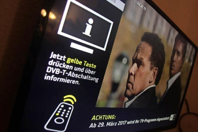 Neue TV-Grenzen in Europa