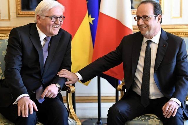 Antrittsbesuch von Bundespräsident Steinmeier in Frankreich