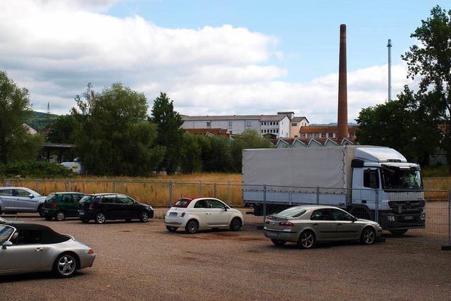 Bau des Parkdecks in Brombach verzögert sich