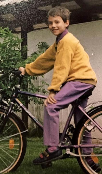 Mark Alexander, in jungen Jahren noch nicht in Schwarz    Foto: privat