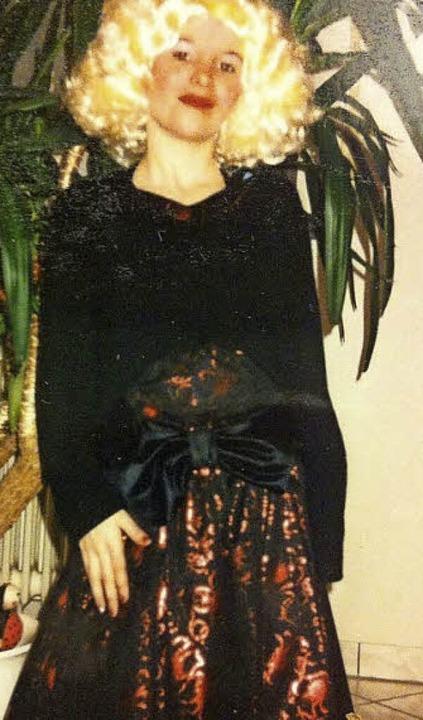 Sara Beha, Marilyn lässt grüßen    Foto: Privat