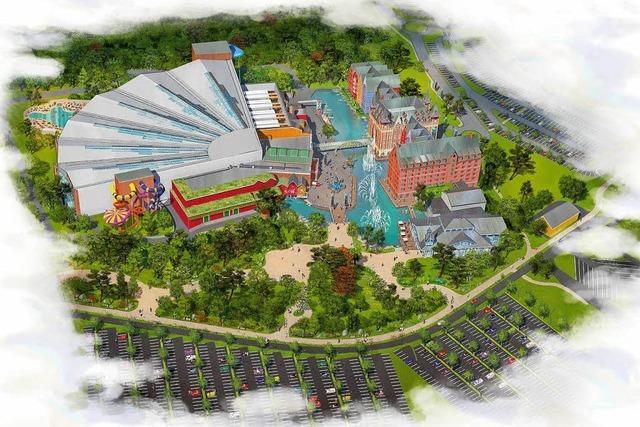 So sieht der neue Wasserpark des Europa-Parks aus