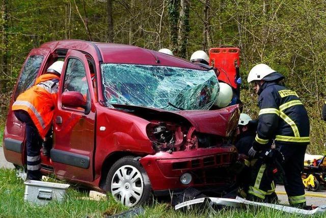 Zwei schwer verletzte Kinder nach Unfall in Freiburg