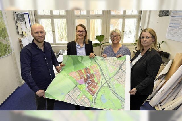 In der Projektgruppe Dietenbach laufen die Fäden für den neuen Stadtteil zusammen
