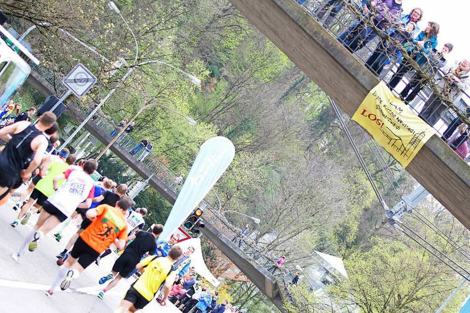 Impressionen vom 14. Freiburg-Marathon am 2. April 2017 (Foto: Janos Ruf)