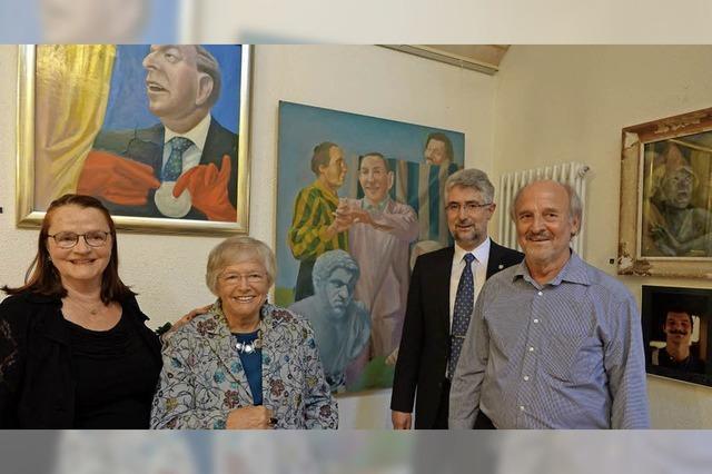 Ausstellung im Stadtmuseum mit Werken von Vater und Söhnen Lamprecht