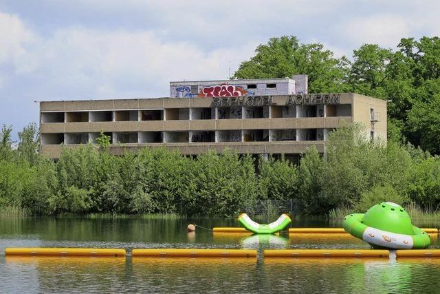 Investor Grossmann verhandelt mit Achern über Ruine des Seehotels