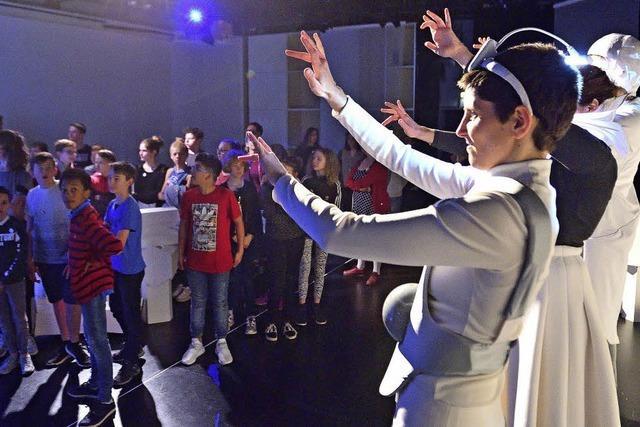 Theaterstück für Gehörlose und Hörende am Stadtheater