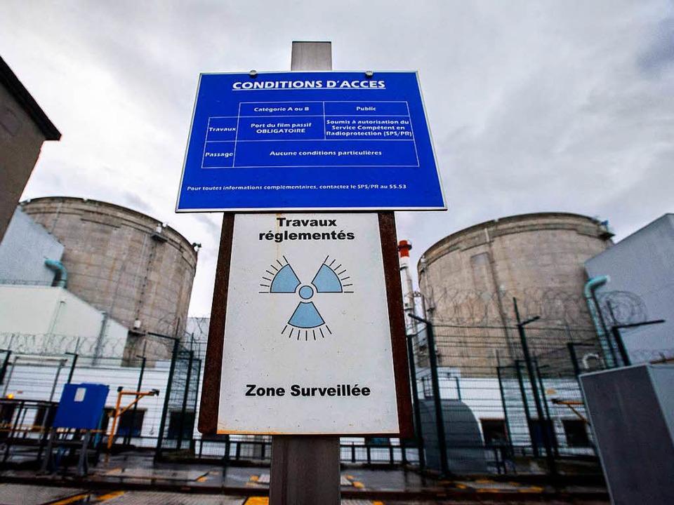 Alt, anfällig, unsicher: Das AKW Fesse...gion ein permanenter Bedrohungsfaktor.  | Foto: AFP