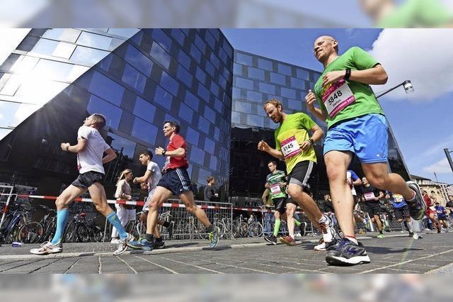Marathon in Freiburg