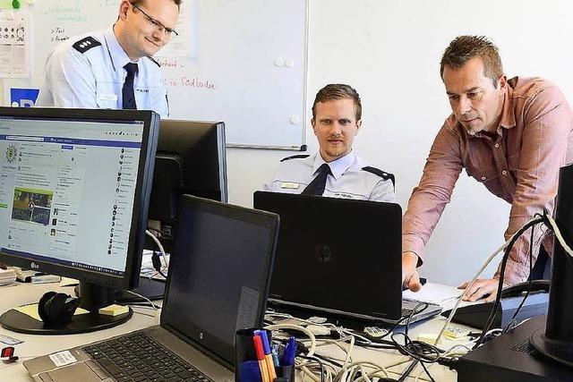 Heute startet das Polizeipräsidium Freiburg auf Twitter und Facebook