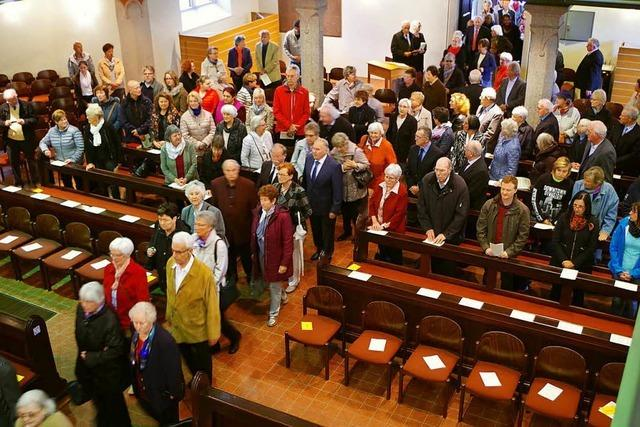 Rund 100 feiern Jubelkonfirmation