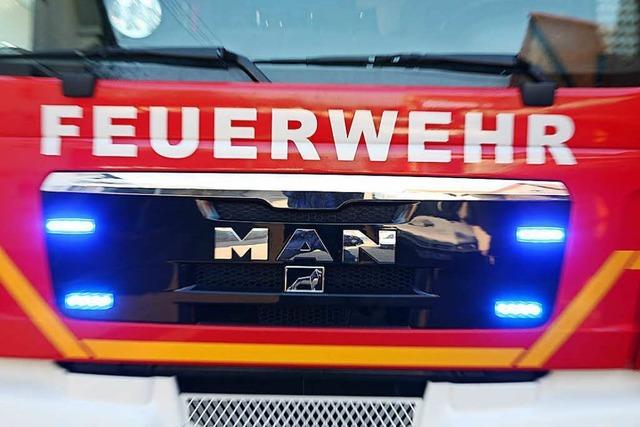 BMW brennt aus