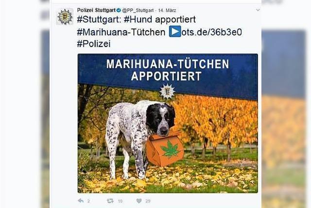 Wie die Polizei aus Offenburg, Karlsruhe und Stuttgart im Netz auftritt