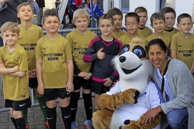Große Überraschung für F-Junioren des SV Grafenhausen