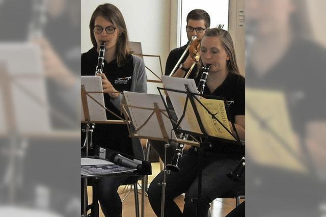Junge Musiker mit großem Können