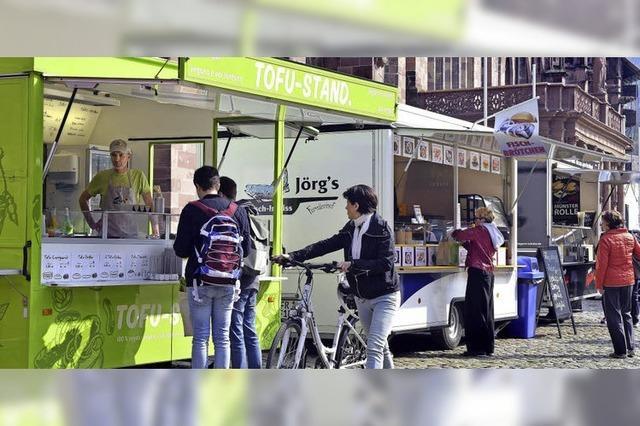 Tofu und Fisch neu auf dem Münstermarkt