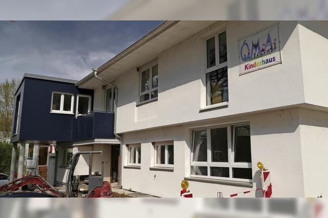 Kinderhaus wächst mit Bewohnern