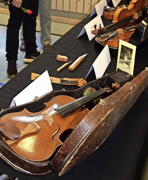 Rötenbach hat einen besonderen Bezug zur Kultur der Streichinstrumente.  | Foto: Volker Rothfuß