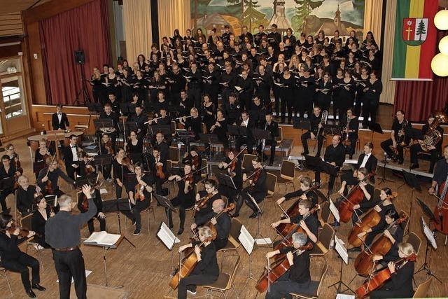 200 Musiker begeistern das Publikum