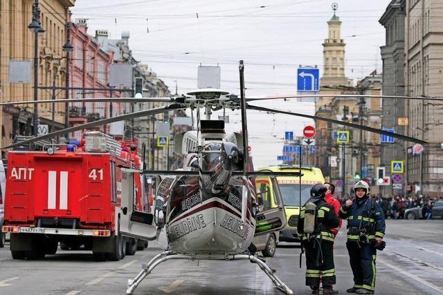 Terroranschlag auf U-Bahn in St. Petersburg