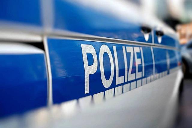 Lörrach-Haagen: Lkw beschädigt Grundstück und Hecke