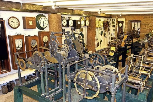 Am Freitag wird das erweiterte Turmuhrenmuseum der Öffentlichkeit vorgestellt
