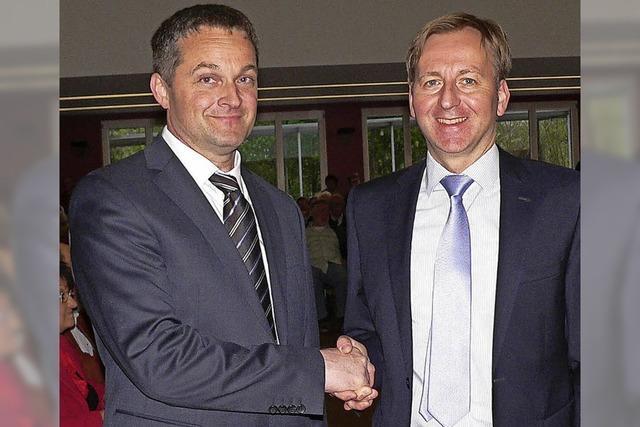Joachim Baumert ist neuer Bürgermeister