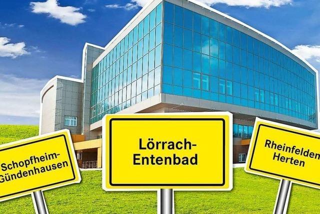 Land stellt Geld für das Zentralklinikum im Kreis Lörrach in Aussicht