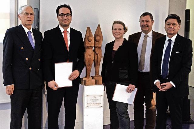 Lörrach: DHBW-Professoren bekommen den ersten Eberle-Preis