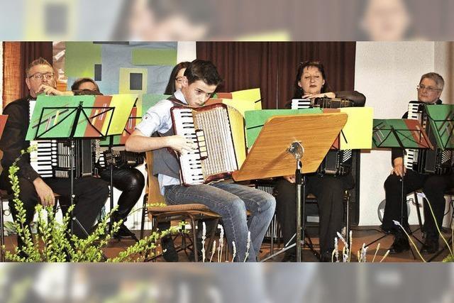 Das Akkordeon-Ensemble Kollnau meldet sich zurück