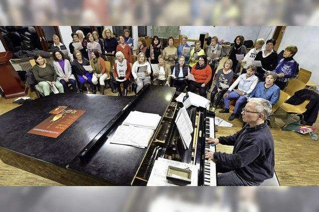 Seit 20 Jahren singt der Frauenchor