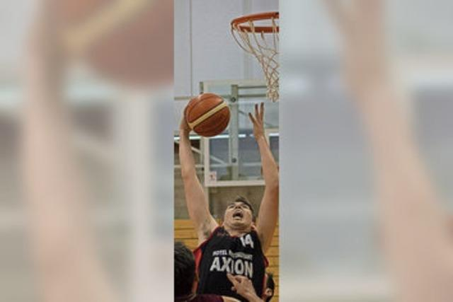 Weiler Basketballer zuhause (fast) eine Macht