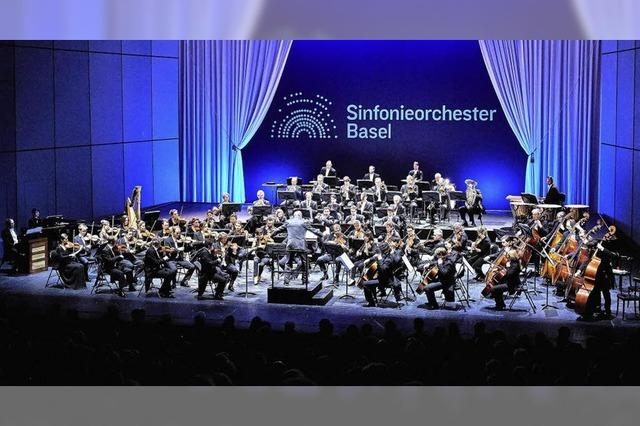 Sinfonieorchester Basel gastiert erneut im Burghof in Lörrach