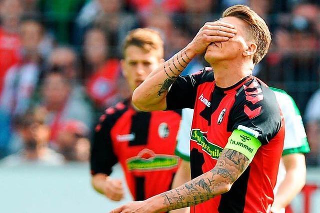 SC Freiburg steht nach Dämpfer vor schwerer Aufgabe