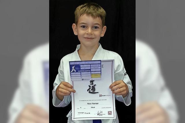 Karate macht Spaß