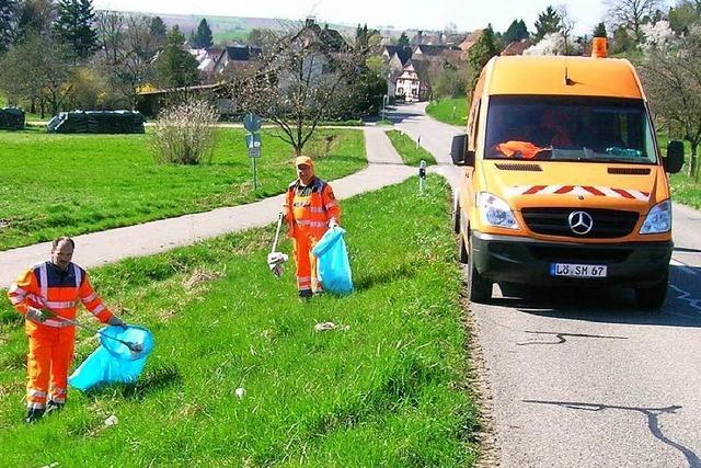 Müll wird tonnenweise im Kreis Lörrach eingesammelt