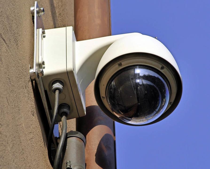 Die Videoüberwachung im öffentlichen R...Sicherheitspartnerschaft mit dem Land.  | Foto: Thomas Kunz