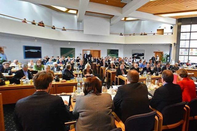 Zentralklinikum: Kreistag stimmt für Standort Lörrach