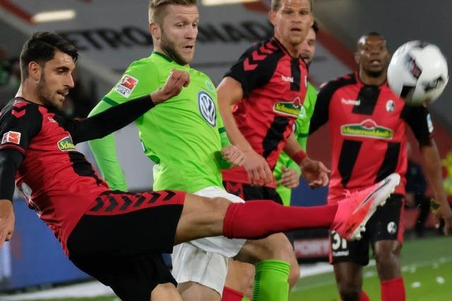 Liveticker: VfL Wolfsburg gegen SC Freiburg 0:1