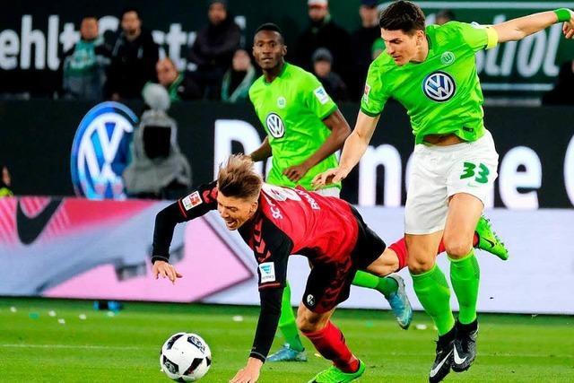 SC Freiburg gewinnt 1:0 gegen den VfL Wolfsburg