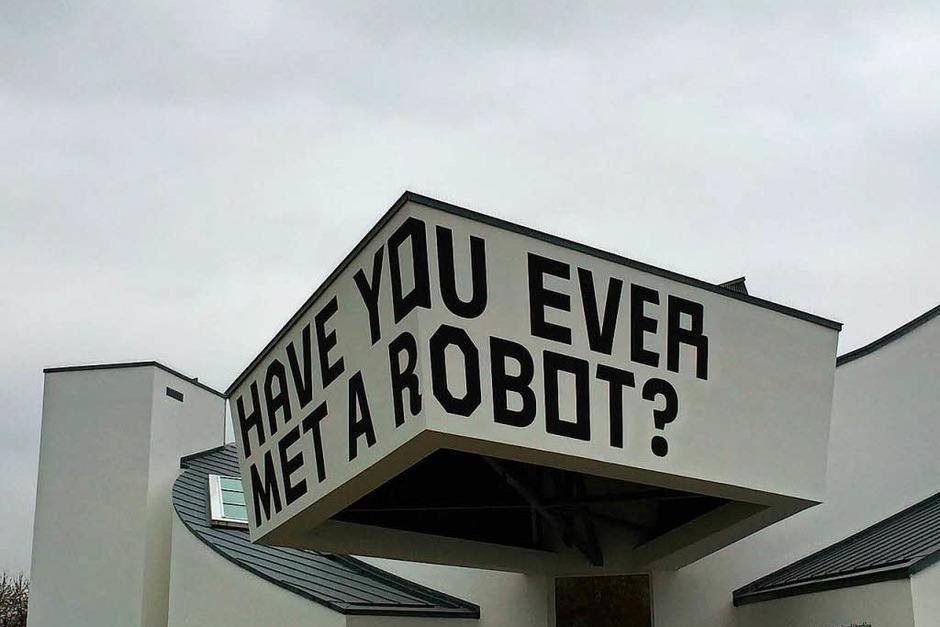Hast du schon mal einen Roboter getroffen? (Foto: Sonja Zellmann)