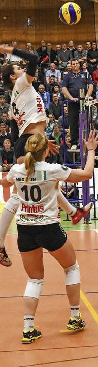 Tanja Paulin hat ihre Bänderverletzung...nk überwunden und ist  einsatzbereit.   | Foto: sek