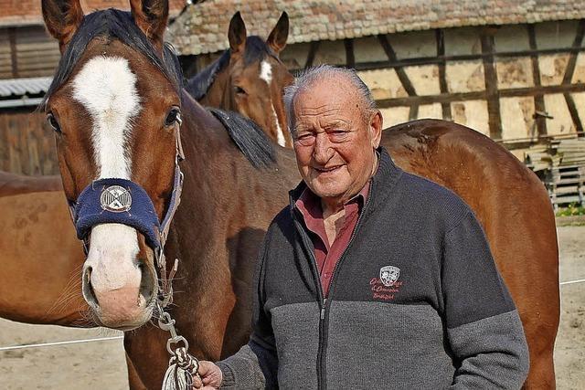 Pferde waren von klein auf seine große Leidenschaft