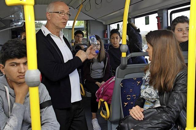 Das richtige Verhalten im Bus