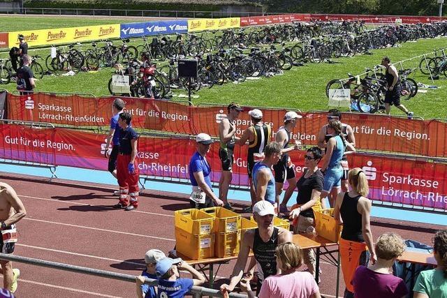 Triathleten starten wieder durch