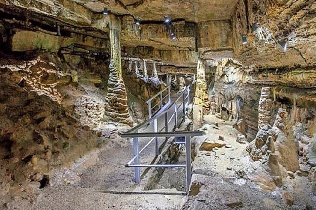 Erdmannshöhle Hasel ist ab Sonntag wieder offen