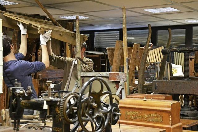 Lörracher Museumsdepot zieht ins Zwischenlager